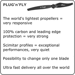 E-props propeller paramotor ppg description