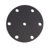 Propeller's flange for paramotors