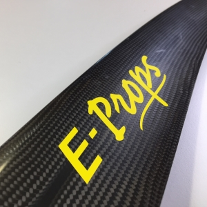 E-Props sticker : LIGHT YELLOW