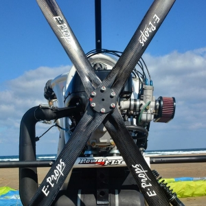 E-PROPS 4-blade carbon propeller paramotor paratrike powered paragliding ppg