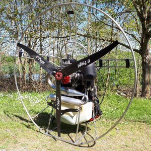 eprops ROS 125 PAP carbon propeller paramotor paratrike powered paragliding ppg