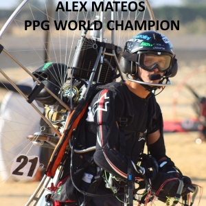 Alexandre Mateos ppg world champion eprops carbon propeller paramotor paratrike powered paragliding ppg