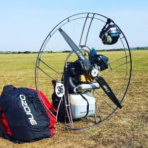 THOR 250 eprops carbon propeller paramotor paratrike powered paragliding ppg