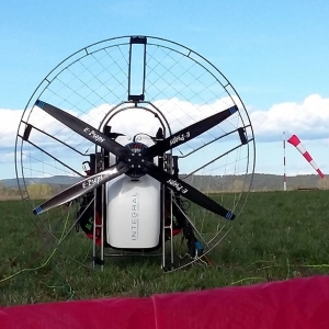 E-PROPS electric engine EXOMO carbon propeller paramotor paratrike powered paragliding ppg