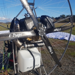 E-PROPS MACFLY carbon propeller paramotor paratrike powered paragliding ppg