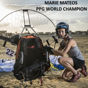 Marie Mateos ppg world champion eprops carbon propeller paramotor paratrike powered paragliding ppg