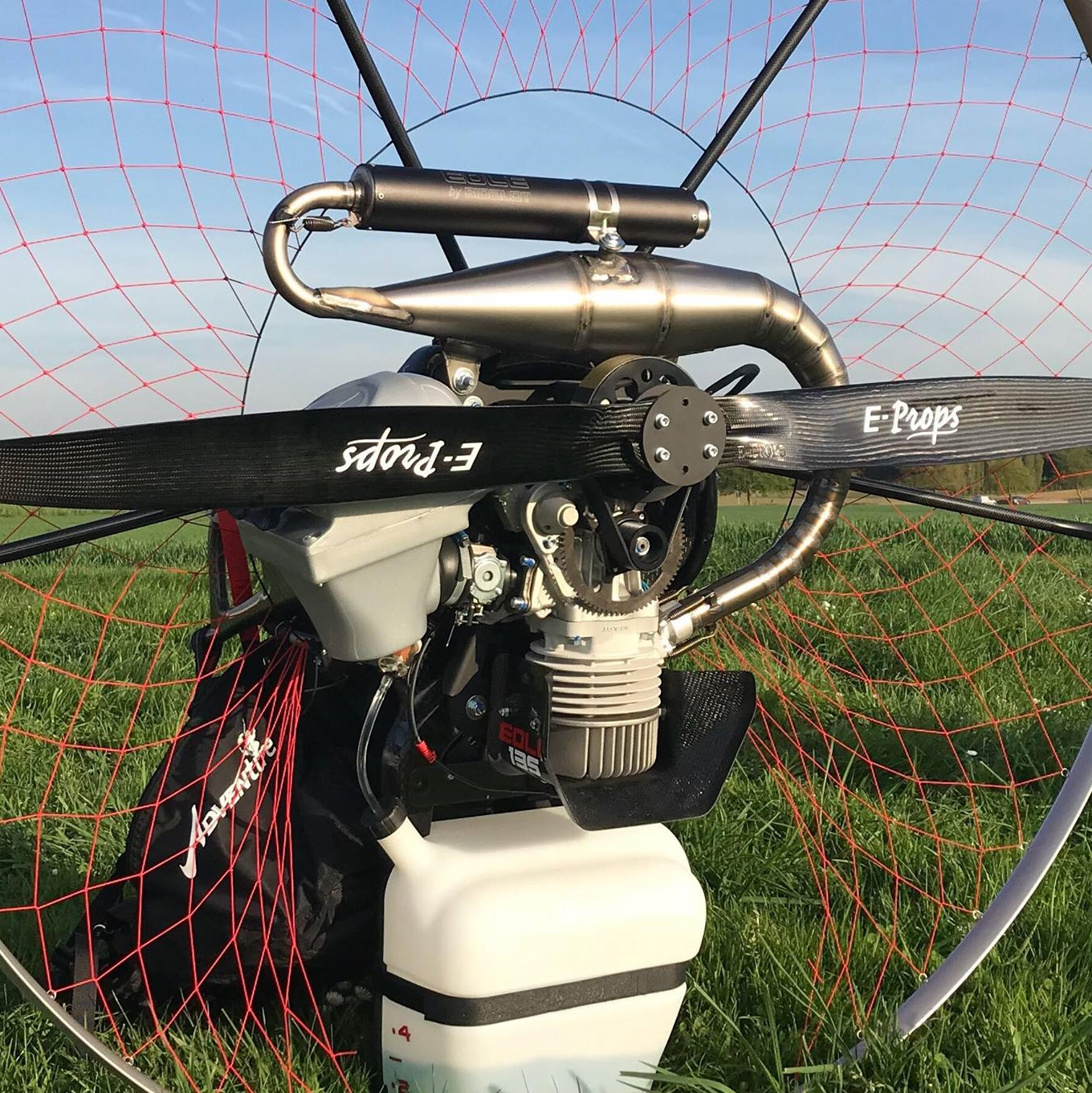 eprops carbon parajet propeller paramotor paratrike powered paragliding ppg