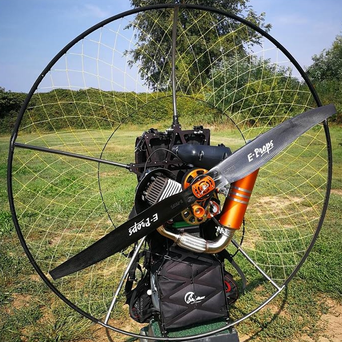 eprops elica carbon propeller paramotor paratrike powered paragliding ppg