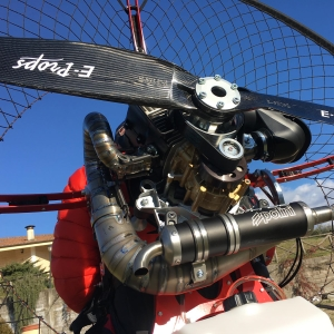 POLINI THOR 190 HF E-PROPS carbon propeller paramotor paratrike powered paragliding ppg