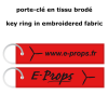 E-Props key ring - red
